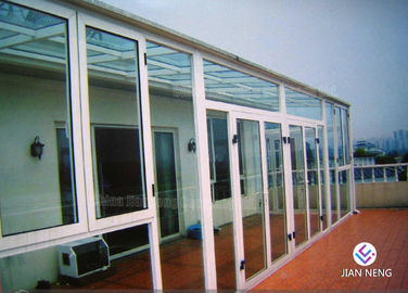 Fireproof Thermal - Break Aluminium Windows And Doors With Clear Glass